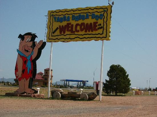 This place is right off Route 66 just outside the Grand Canyon. Not a planned stop but ended up being the highlight of our trip. The kids were more excited about Bedrock City than the Grand Canyon.