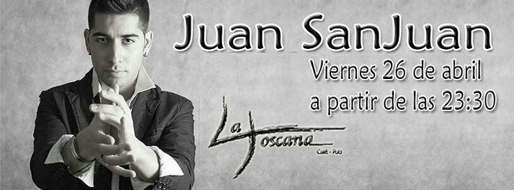 Disfruta de Juan SanJuan en La Toscana Lepe