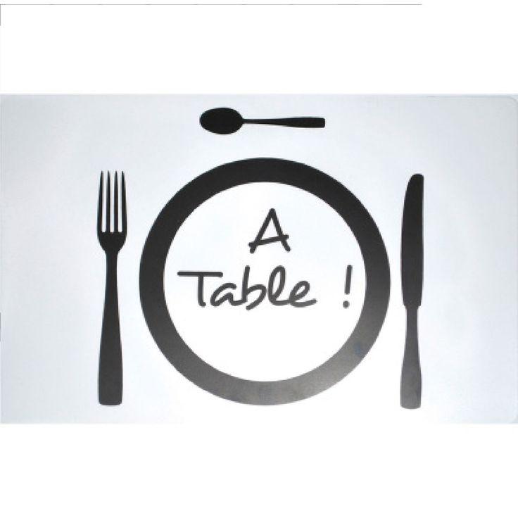 Set De Table 28 X 44 Cm Transparent A Table Taille