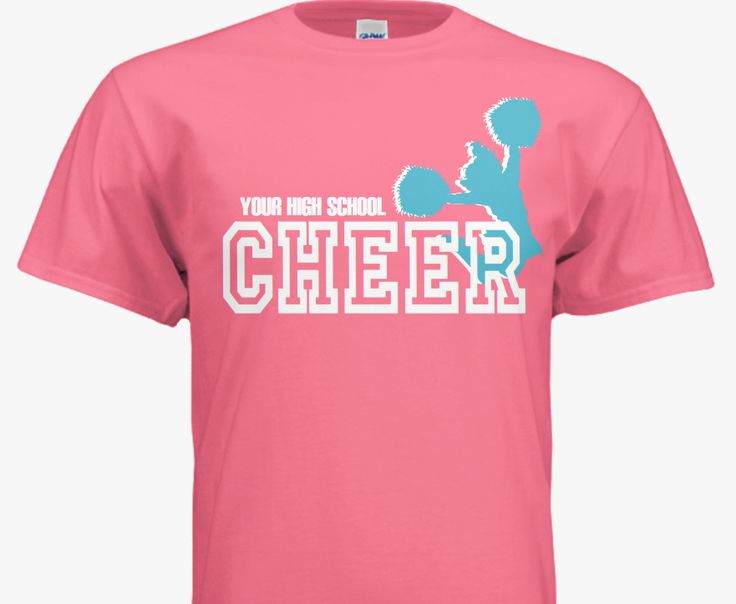 93 best sporty shirt designs images on pinterest shirt Cheerleading t shirt designs
