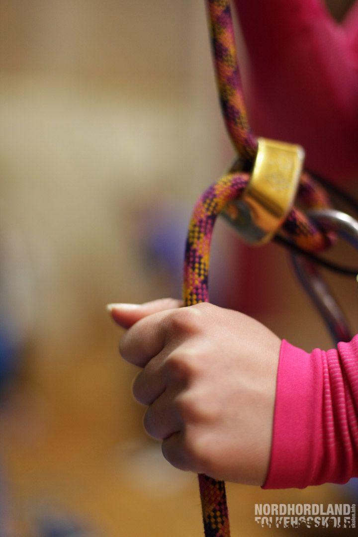 Brattkort og klatring, Nordhordland Folkehøgskole