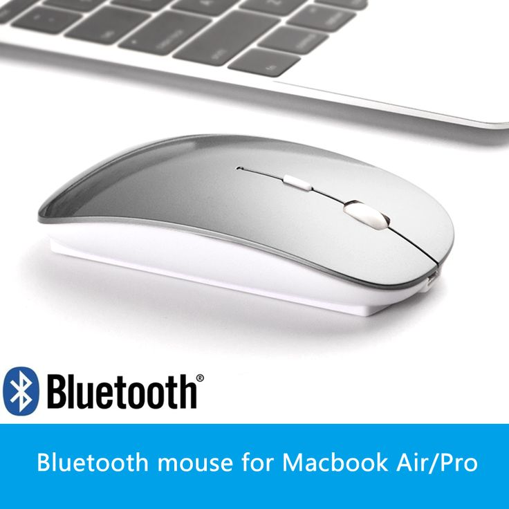 Wireless/Bluetooth Mouse for Mac book air for Macbook Pro Battery Wireless Mouse for Laptop Computer souris souris sans fil
