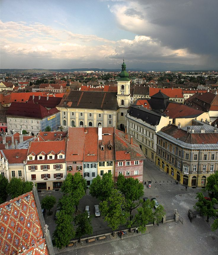 Sibiu, my beautiful home town.