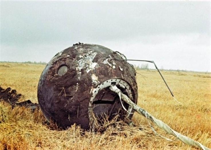 Vostok 1 Capsule  (AFP PHOTO/Archivo)