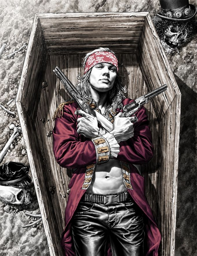 Lee Bermejo isan American illustrator and comic book artist. Most of his works about heroes of famous comics. Lee works withMarvel, DC Comics, Men's Health, Max Mara, Wizard Entertainment etc. viahttp://leebermejo.blogspot.com/