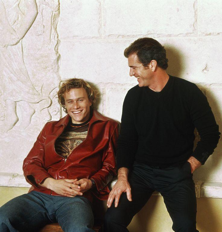 heath ledger and mel gibson | Мел Гибсон и Хит Леджер. Промо фильма ...
