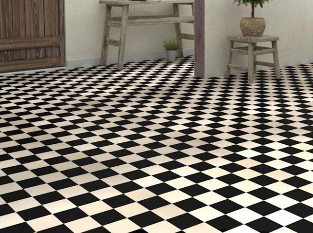les 25 meilleures id es de la cat gorie sol en damier sur pinterest sol de cuisine carreaux. Black Bedroom Furniture Sets. Home Design Ideas
