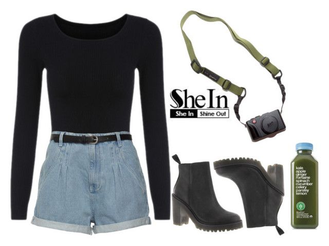 """""""Untitled #172"""" by chicclo on Polyvore featuring Dr. Martens and DSPTCH"""