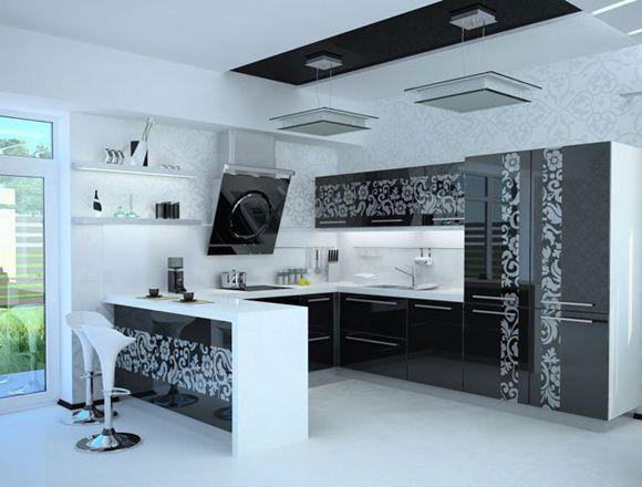 Маленькая кухня-студия - фото