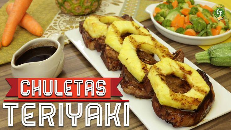 ¿Cómo preparar Chuletas de Cerdo Teriyaki ? - Cocina Fresca