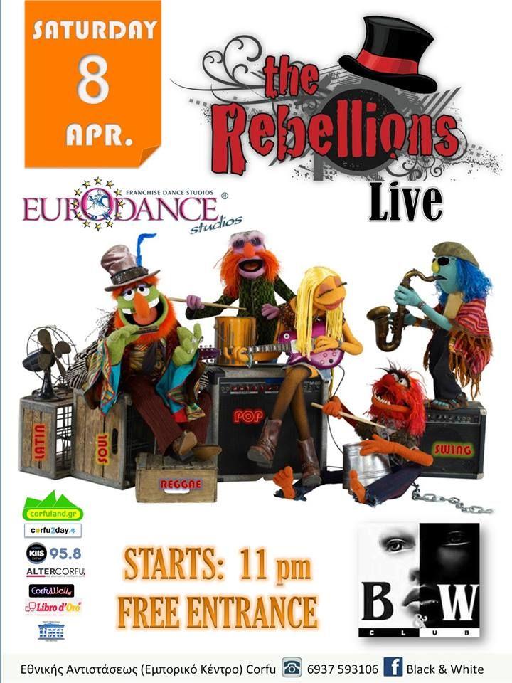 Οι Rebellions στο B&W club το Σάββατο 8 Απριλίου. Διαβάστε περισσότερα...