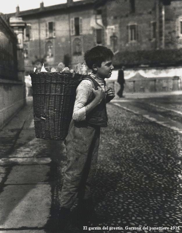 El Garzòn del Prestinèe | Il ragazzo del Panettiere | Milano   #TuscanyAgriturismoGiratola