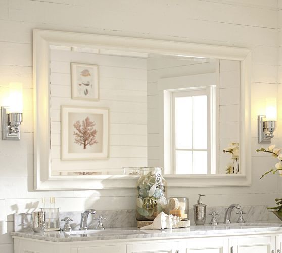 Sonoma Double Width Mirror 36 X 60 Girls Bathroom Bathroom Ideas Pinterest Pottery