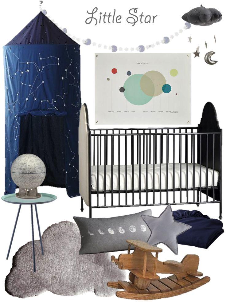 Amazing Boy Nursery: Cool Boy's Nursery Design Inspiration! #star