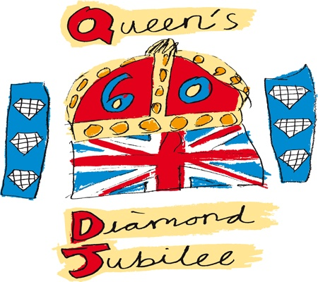 Diamond Jubilee Emblem - seen everywhere and truly iconic!
