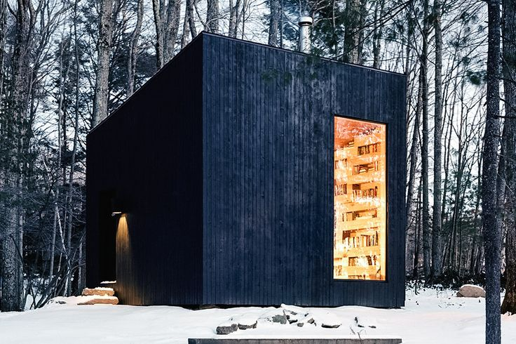 Library Cabin   Uncrate