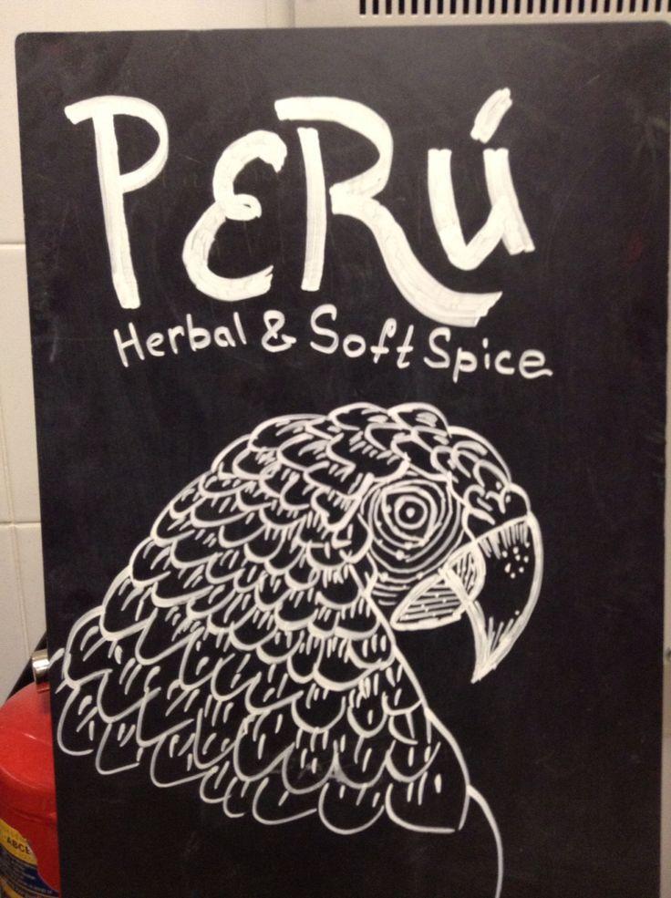 Starbucks Peru Origin Espresso billboard. Author: Oleg Petrenko