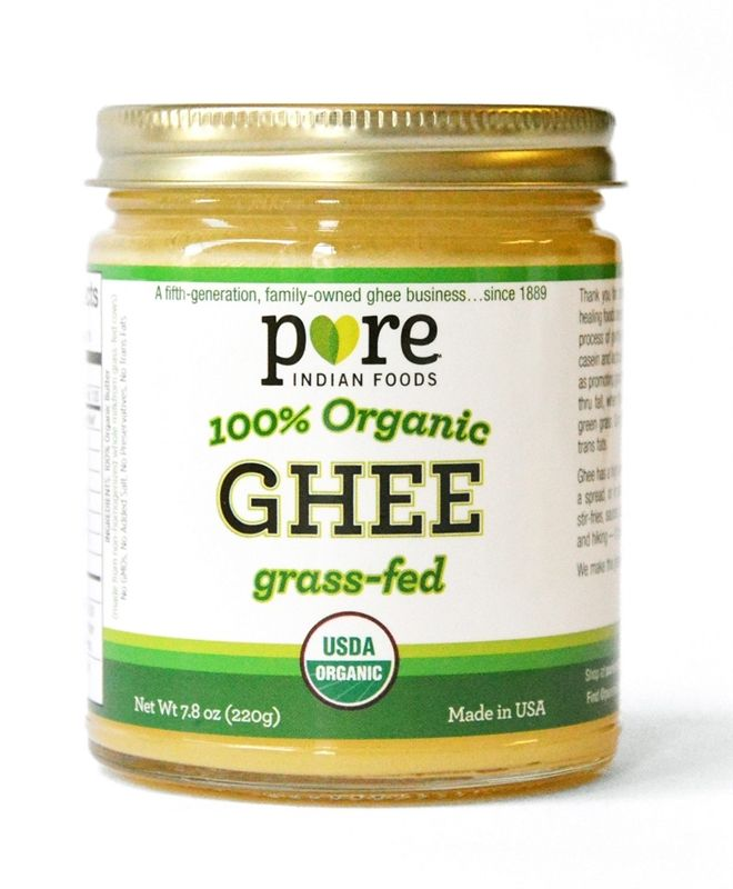 Buy Organic Grass Fed Indian Ghee from Pure Indian Foods