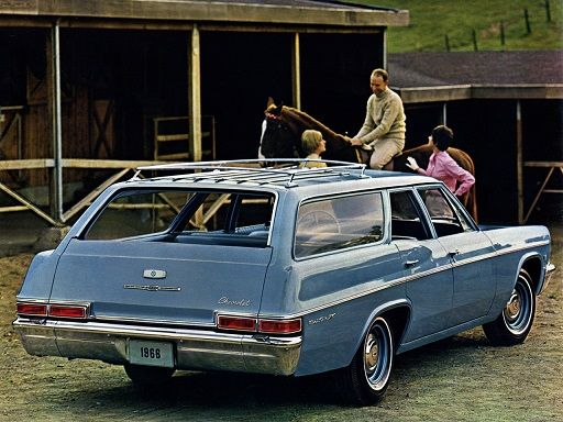 Chevrolet Bel Air Station Wagon (1966).