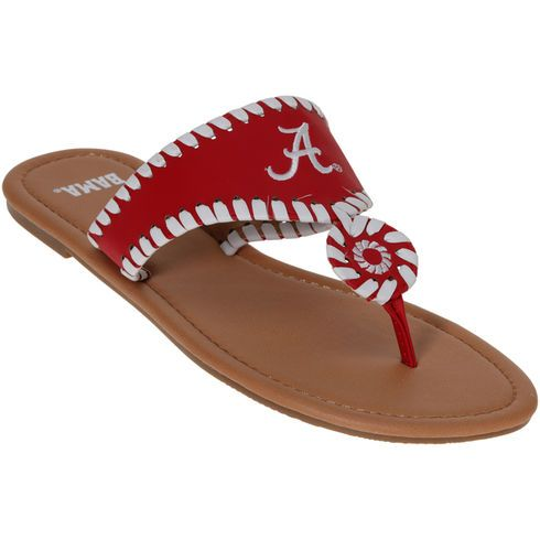 Alabama Crimson Tide Women's Jackie Sandals - Crimson