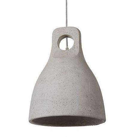 Duża betonowa lampa wisząca Ponsoo to model o formie nawiązującej do fabrycznego, surowego oświetlenia. Lampę można wykorzystać również w wnętrzach stylu loft, jako oświetlenie pokojowe.  http://blowupdesign.pl/pl/lampy-betonowe-gipsowe-industrialne-loft-design/1212-industrialny-styl-lampy-betonowej-ponsoo-spelni-funkcje-oswietlenia-salonu.html #concrete #concretelamp #loftdesign #industrialdesign #productdesign #lighting #lightingstore #hanginglamps #lampazbetonu #lampaloft
