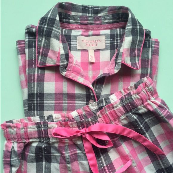 The Mayfair Pajama Super cute and comfy matching pajama set! Great for lounging around. Worn once for a pajama party. no trades please Victoria's Secret Intimates & Sleepwear Pajamas