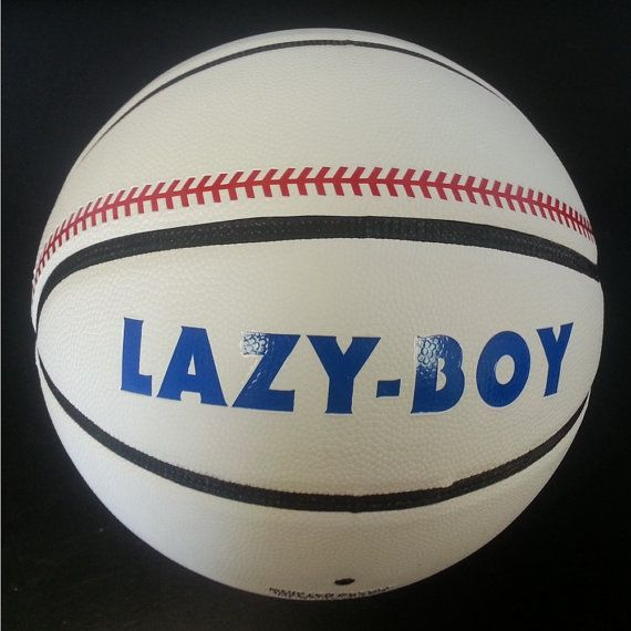 LazyBoy Ball From Baseketball Movie Real by MyPartyShirt on Etsy, $26.99