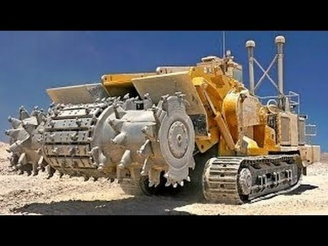 Extreme Huge Machines Crushing Concrete and Steel Modern Intelligent Mac...