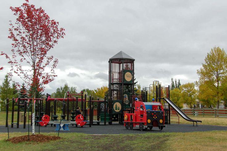 Wedgewood Heights Playground, Edmonton