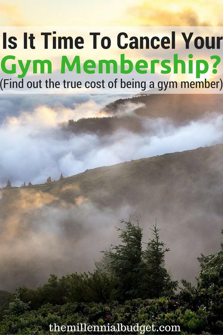 Why It May Be Time to Cancel Your Gym Membership