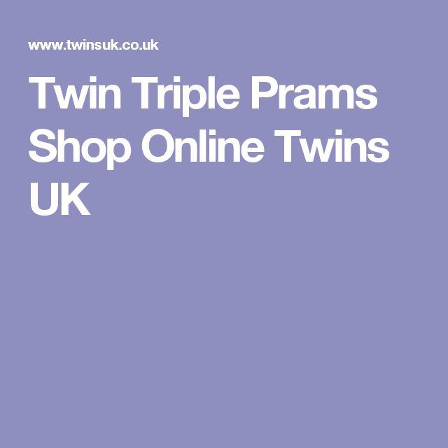 Twin Triple Prams Shop Online Twins UK