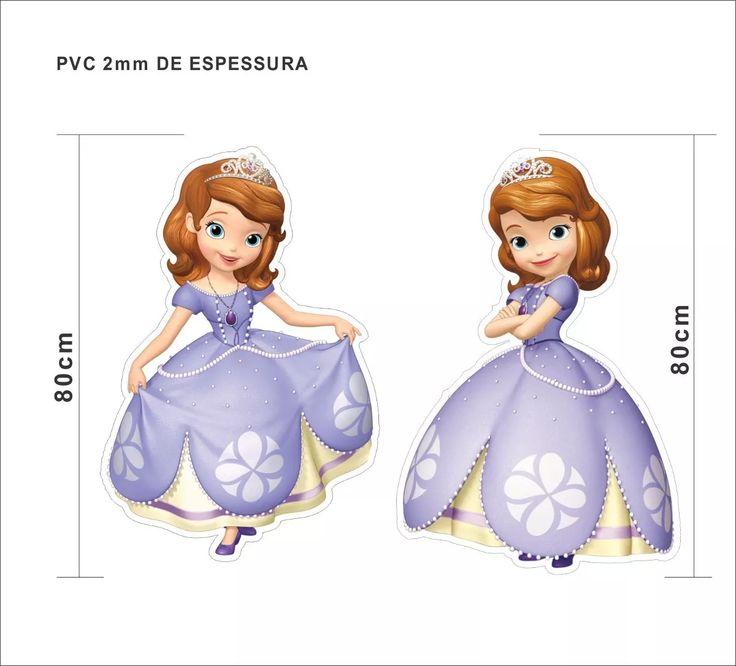 Display Chão Princesa Sofia Princess Toten Festa Aniversário - R$ 116,00 em Mercado Livre