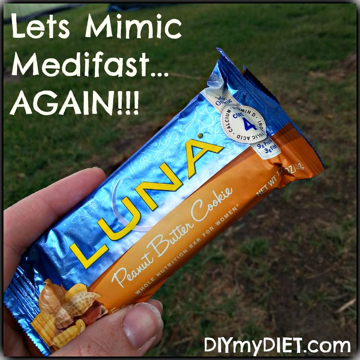 <p>By now if i haven't given you enough bars to survive on.. your just making excuses!  The last of my bars to mimic the Medifast bars is…… drum roll please!!!! LUNA!  A few weeks ago I told you about Luna Protein bars. If you have those available I …</p>