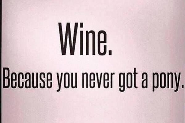 """It's """"Wine O'Clock Somewhere"""", lol ♥ ~~ Click on the pic to access my growing collection of """"Humor : Wine"""" pics and memes on my Facebook page. Feel free to """"Follow"""" or """"Friend"""" me on Facebook. I'd appreciate it if you would """"Follow"""" me here on Pinterest, too. Thank you. ♥"""