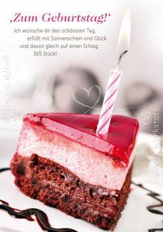Zum Geburtstag! - Postkarten - Grafik Werkstatt Bielefeld