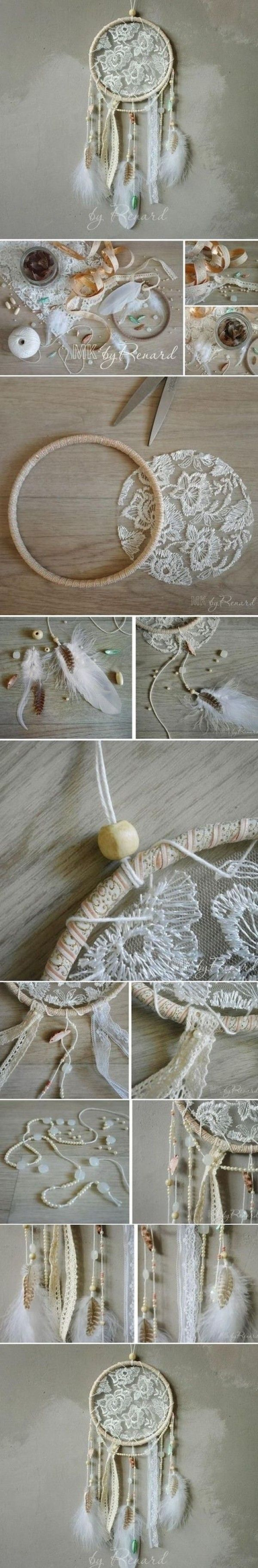 Check out the tutorial: #DIY Dream Catcher #crafts #homedecor