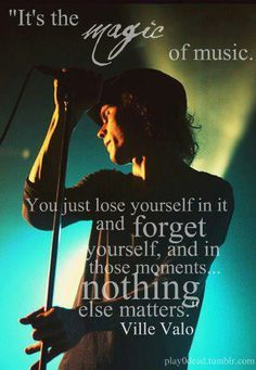ville valo quotes - Google Search