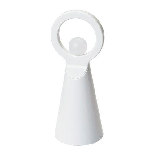 STRÅLA Decoração LED, anjo IKEA Anjo com formas gráficas; luz decorativa para usar, por exemplo, na época natalícia.