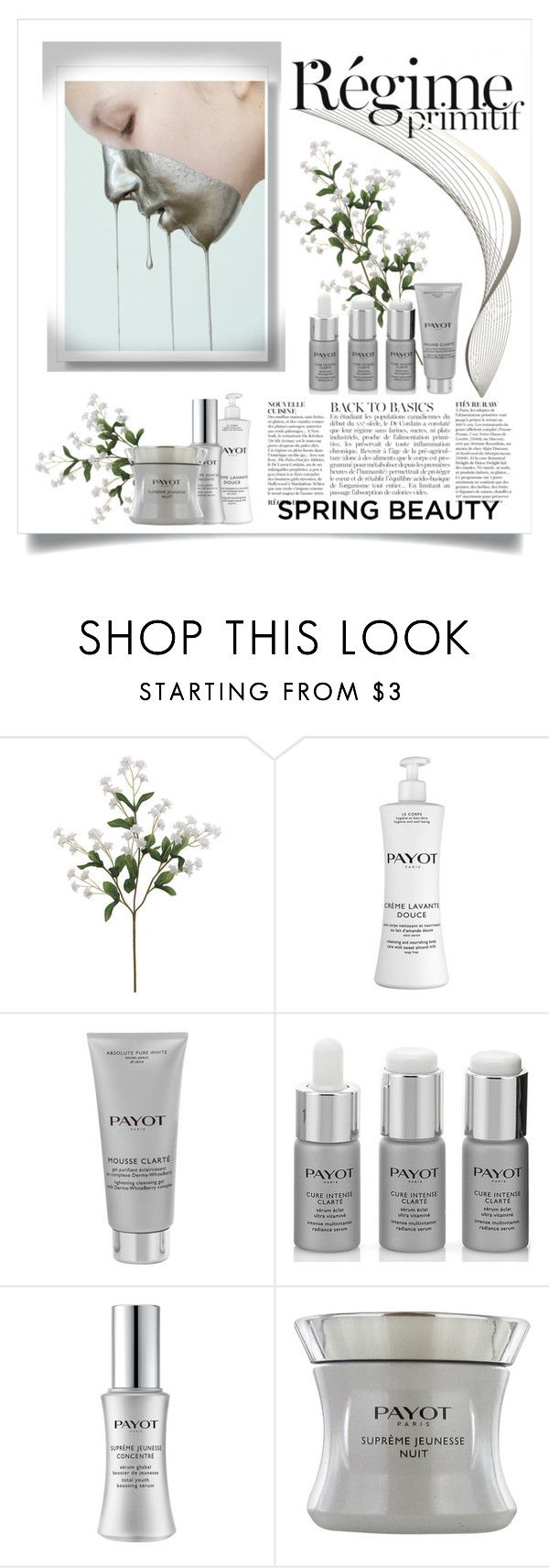 """R'egime Payot"" by conch-lady ❤ liked on Polyvore featuring beauty, Anja and Payot"