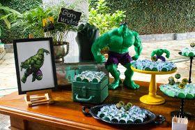 Projetos Inventivos: Festa Hulk