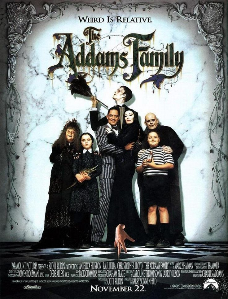 Halloween movies to watch with your kids | kids? I'll watch these motherfuckers by myself. over and over again. Fuckin' love The Addams Family.