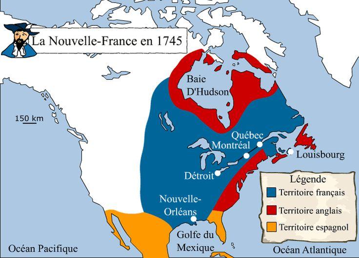 La Nouvelle-France en 1745