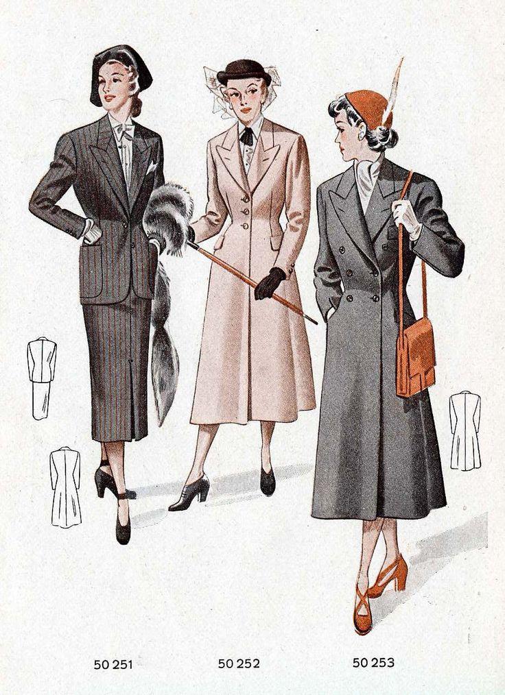 1950 die elegante herren und damenmode fr hjahr sommer m ller sohn 1950 die elegante herren. Black Bedroom Furniture Sets. Home Design Ideas