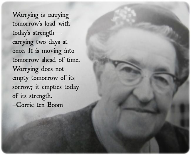 Corrie ten Boom's Christmas Memories      What a woman of faith!   mwordsandthechristianwoman.com