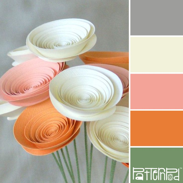 Paper Posy #patternpod #patternpodcolor #color #colorpalettes