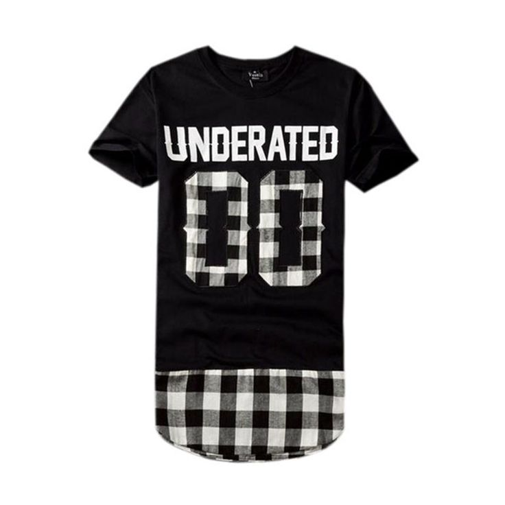Men T Shirts, Hip Hop Streetwear Fashion T-Shirt, Red, White, Black