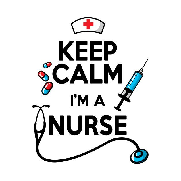 Check out this awesome 'Keep+calm+nurse' design on @TeePublic!