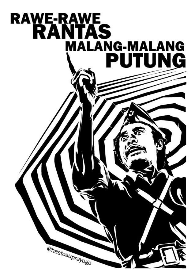 Bung Tomo Png : Indonesian, Independence,, Bung,, Joker, Poster