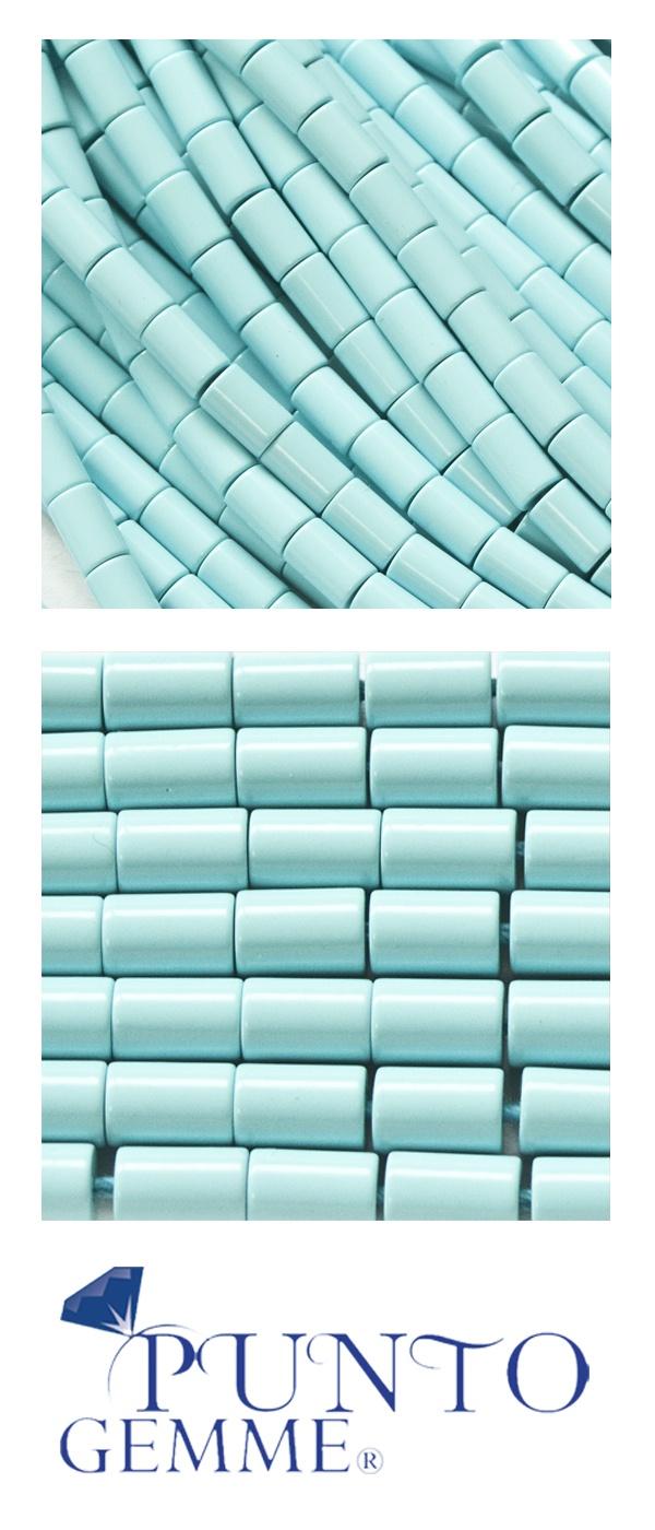 #turquoise Cylinders of turquoise #gemmopoli