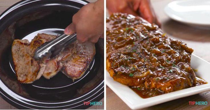 Jamais vous n'aurez mangé d'aussi bonnes côtelettes de porc!